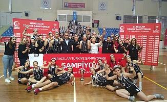U18 Genç Kızlar Türkiye Şampiyonası sona erdi