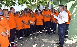 """Erdoğan; """"Amacımız Biga'ya en iyi hizmeti sunmak"""""""