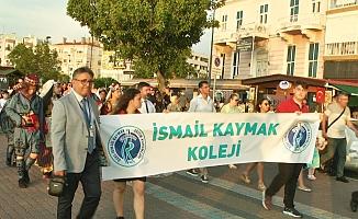 Geleneksel yürüyüş gerçekleştirildi (Video)
