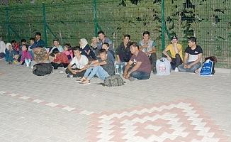 165 mülteci yakalandı