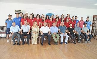 Çanakkale Belediyespor'a genç sporcular (Video)