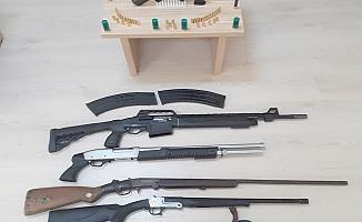 Biga'da silah kaçakçılığı