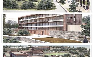 Gençlik ve Spor Kampı inşaatı yükseliyor