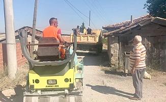 Köy içi yolları asfaltlandı