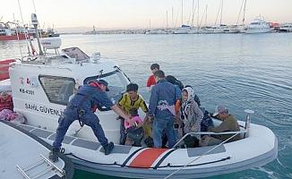 Sahil Güvenlik'ten kaçak göçmen operasyonu