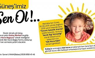 """Başkan Bayram'dan """"Güneşimiz Sen Ol"""" kampanyasına destek (VİDEO)"""