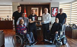 ELDER ve Boğazgücü'nden Başkan Gökhan'a ziyaret