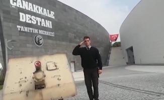 Tarihi Alan'da 'Mehmetçiğe Selam Olsun' videosu (VİDEO)
