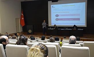 İhracata yönelik destekler hakkında bilgilendirme toplantısı düzenlendi