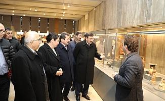 Cevdet Yılmaz, Troya Müzesi'ni Gezdi