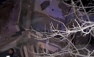 Elazığ'da deprem anı ve sonrası (VİDEO)