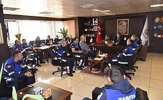 Başkan Öz, zabıtalar ile olağan toplantısını gerçekleştirdi
