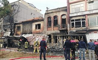 Çanakkale'de yangın
