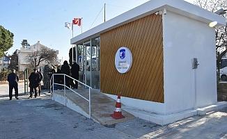 Güzelyalı hizmet binası geçici olarak kapatıldı