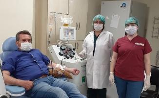 ÇOMÜ'de 'İmmün Plazma' transferi