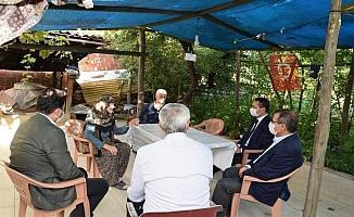 Vali Aktaş'tan şehit ailesine ziyaret