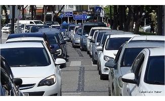Çanakkale'de araç sayısı 235 bin 871