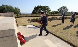 Lone Pine Avustralya Anıtı'nda çelenk töreni yapıldı