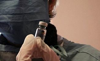 Çanakkale'de aşı uygulaması başladı