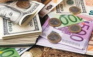 Euro ve dolar güne düşüşle başladı