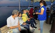 Ayvacık'ta 29 kaçak göçmen yakalandı