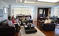 Başkan Gökhan Liman Başkanını ağırladı…