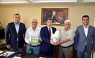 Başkan Ulaş'tan Vali Tavlı'ya davet