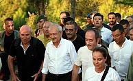 Kılıçdaroğlu, 57. Alay yolundan Conkbayırı'na yürüdü