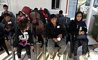 56 kaçak göçmen yakalandı