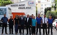 AFAD Deprem Dairesi Başkanı Çanakkale'de