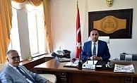 Başkan Gökhan'dan Karaşit'e iade-i ziyaret