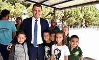 Başkan Kuzu'ya öğrencilerden sevgi seli