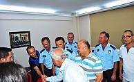 Başkan Yılmaz zabıta ekipleriyle buluştu