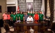 Bayramiçspor'dan Başkan Arslan'a ziyaret