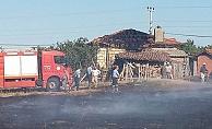 Çan'ın Dondurma Köyü'nde yangın