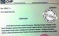 CHP Merkez İlçe Disiplin Suçumu işledi?