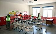 Okullar 'da temizlik çalışmaları