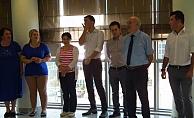 SGK personelinden bayramlaşma töreni