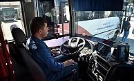 Şoför adayları sınavdan geçti...