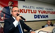 """Turan, Çanakkale'den Kılıçdaroğlu'na seslendi; """"Sen mi PKK'nın temsilcisisin, PKK'mı senin sözcün?"""""""