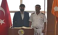 Uslu'dan Binbaşı Baysal'a ziyaret
