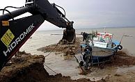 Zarar gören tekneler için çalışma başlatıldı