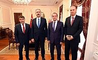Adalet Bakanı Gül, BİK heyetini kabul etti