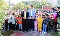 Başkan Arslan, Bayramiç´in en büyük parkını açtı