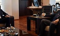 Başkan Arslan'dan Başkan Gökhan'a ziyaret…