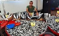 Bayramiç'te balık fiyatları yüksek seyrediyor
