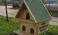 Biga Belediyesi'nden Kedi Evleri Projesi