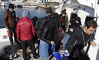 Çanakkale'de 18 mülteci yakalandı