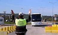Çanakkale'de 16 farklı noktada 'Türkiye Trafik Güvenliği-7' uygulaması