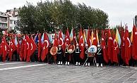 Çanakkale'de Cumhuriyet Bayramı törenle kutlandı